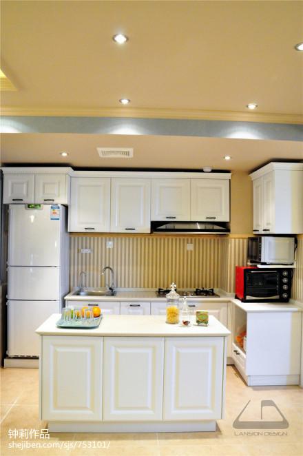 面积94平混搭三居厨房装修效果图片