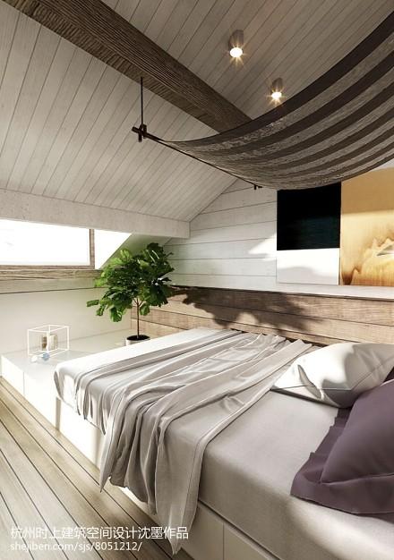 热门复式卧室简约装修图