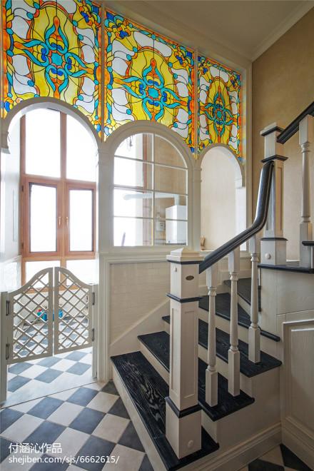 美式复式楼梯设计图