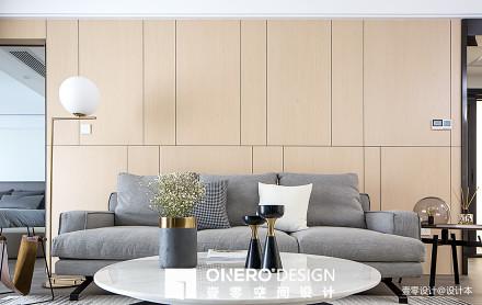 精美94平米三居客厅简欧装修实景图片欣赏